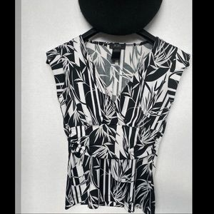 BCBG spring fitted top